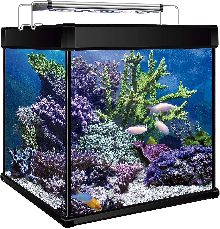 ICA KXMCU6N Kit Aqua Lux Pro 190 with Internal Filter, Black