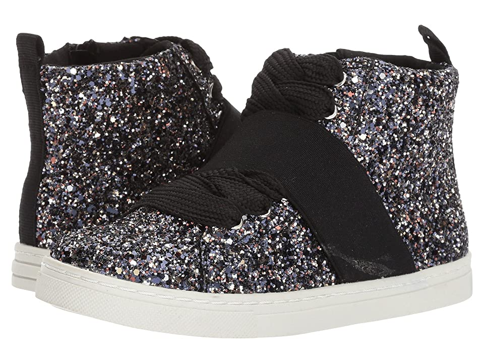 Dolce Vita Kids Zoa (Little Kid/Big Kid) (Onyx Glitter) Girl