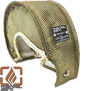Thermal Zero Lava EFR B2 turbo blanket heat shield cover. Fits Borg Warner EFR internally wastegated turbochargers: 9174, 7064, 7670, 8374, 9180