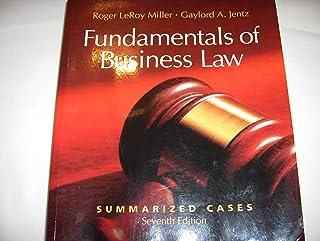 comprar comparacion Title: Fundamentals of Business Law Summarized Cases