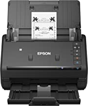 Epson Workforce ES-500WR Wireless Color Receipt & Document Scanner for PC and Mac, Auto Document Feeder (ADF)