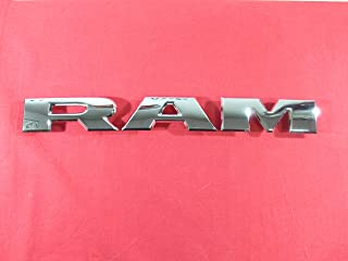 ram chrome letters