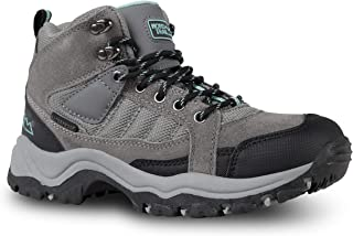 Nord Trail Mt. Hunter Hi II Hiking Boots for Women - Suede Waterproof Boot - Outdoor Shoes for Trekking and Camping
