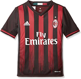 adidas AC Milan Kids Home Football Shirt 2016-17-11-12 Years