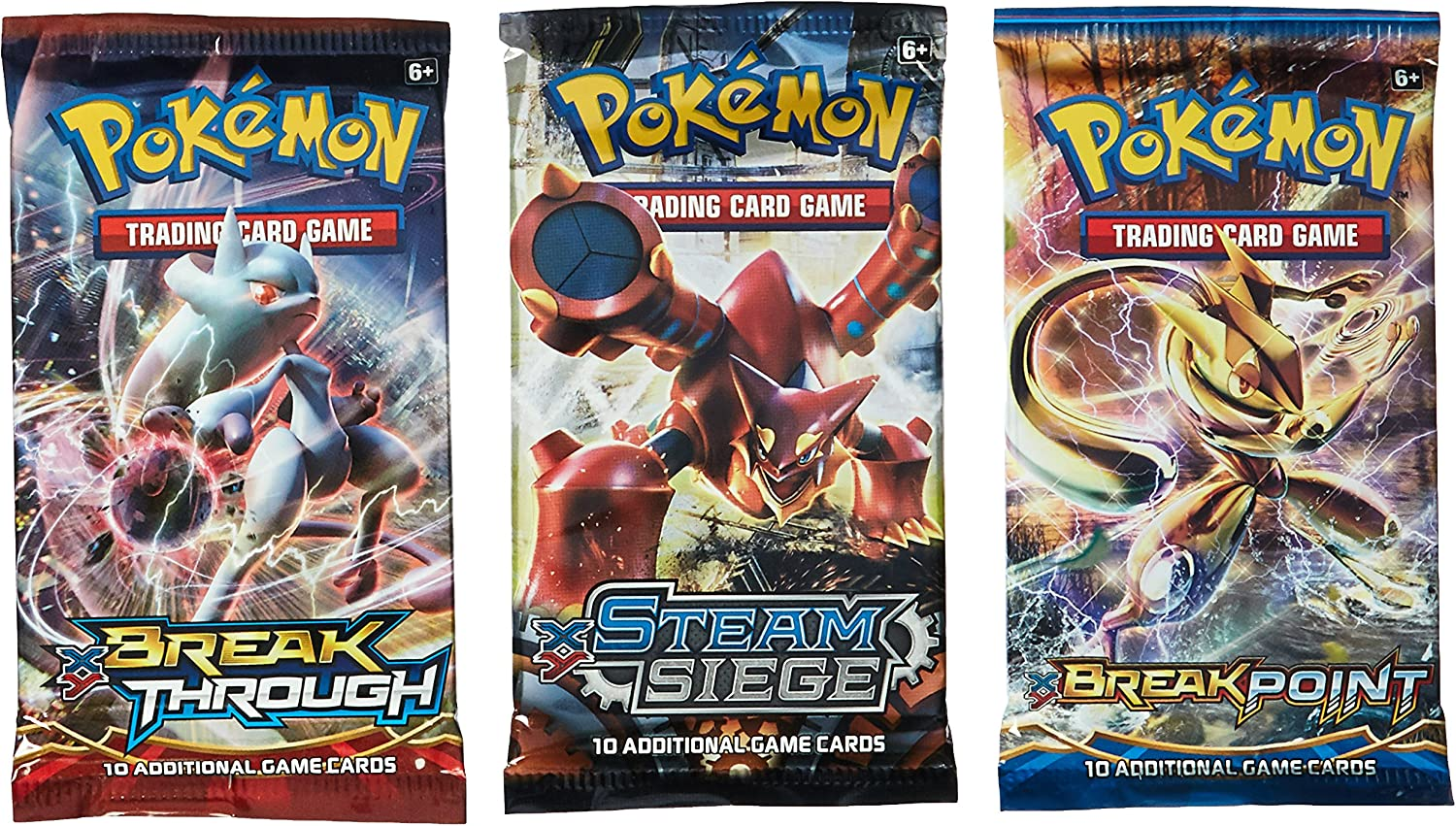 BrOOSTER PACK 100/% REAL POKEMON CARD LOT AUTHENTIC POKEMON TCG 50 CARDS C//U