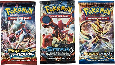 Pokemon TCG: 3 Booster Packs – 30 Cards Total| Value Pack Includes 3 Blister Packs of..