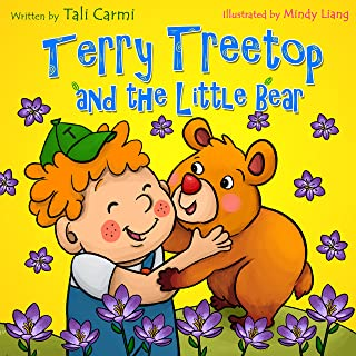"""Books for Kids: """"TERRY TREETOP AND THE LITTLE BEAR"""" (Animal habitats, Early learning, Values book, Funny bedtime story, Social skills for kids, Adventure ... Treetop Series Book 5) (English Edition)"""