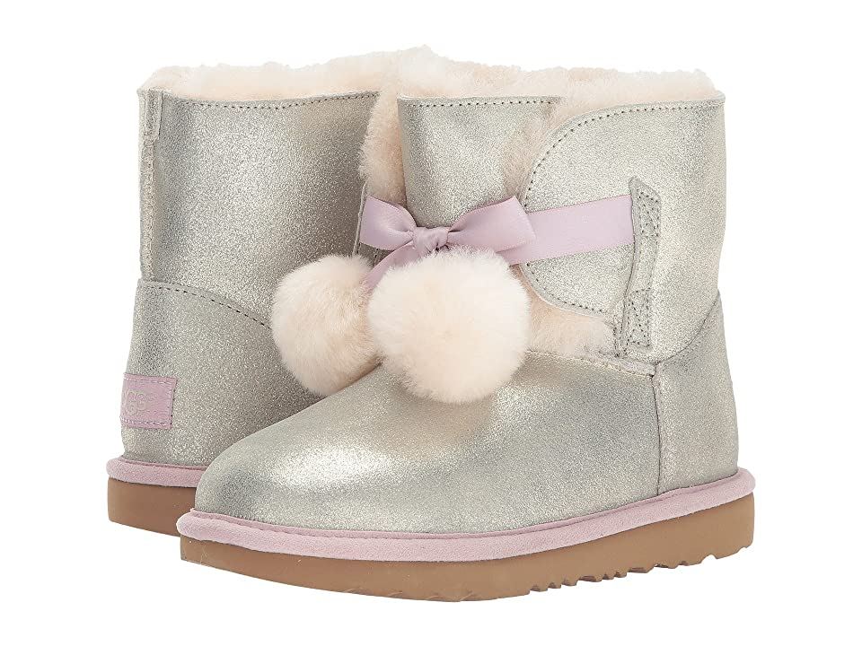 UGG Kids Gita Metallic (Little Kid/Big Kid) (Gold) Girls Shoes