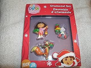 American Greetings Nick Jr. Dora the Explorer Ornament Set 2006 Viacom