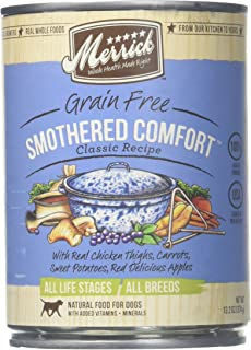 Merrick Pet Care, Smothered Comfort, Chicken Dog Food, 13.2 Oz., 12 Count