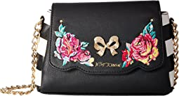 Betsey Johnson Belle Rose Crossbody