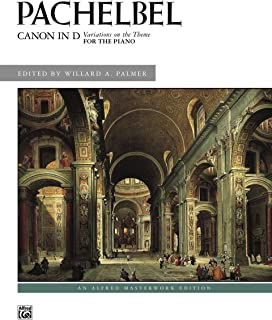 Canon in D: Variations on the Theme for Piano: Sheet (Alfred