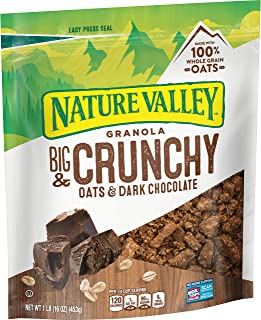 Nature Valley Granola, Protein Oats and Dark Chocolate, 16 oz