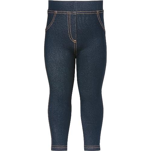 Playshoes Unisex Baby-Leggings Jeans-Optik