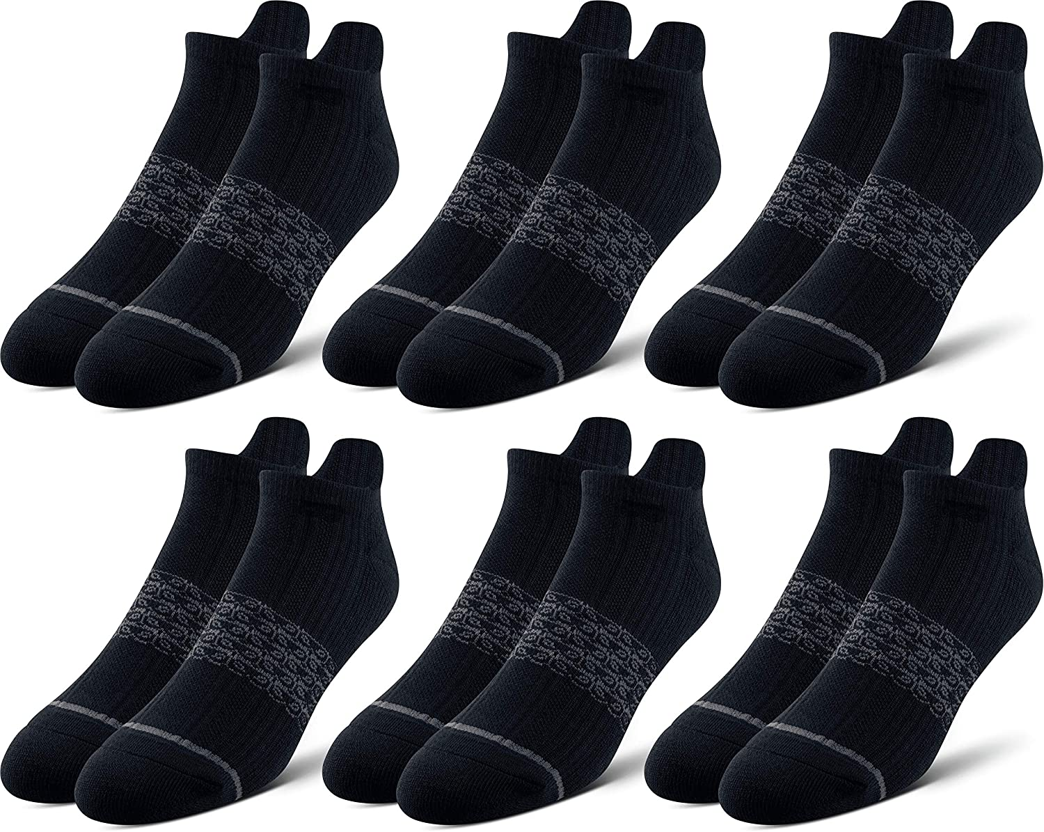 Pair of Thieves Men's 6 Pack Everyday Kit Cushioned Low Cut Socks