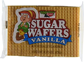 Keebler Sugar Wafer Vanilla, 2.75-Ounce Packages (Pack of 12)