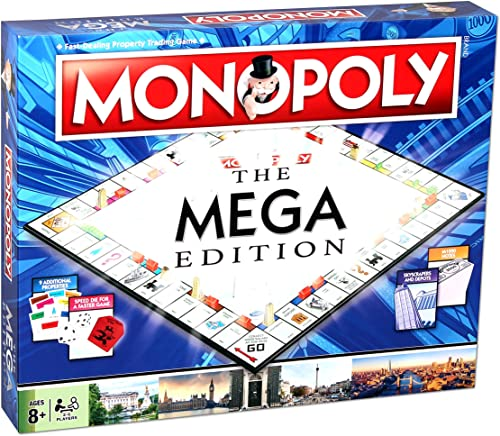 Winning Moves WMA Mega Monopoly Board Game