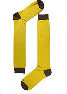 OXF35L Calcetines cortos, Amarillo (Mostaza 35), 43/46 (Tamaño del fabricante:G) para Hombre