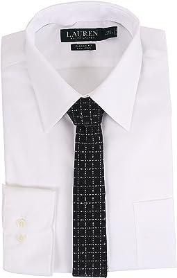 LAUREN Ralph Lauren - Pinpoint Point Collar Classic Button Down Shirt