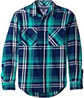 Tommy Hilfiger Kids - Larson Long Sleeve Shirt (Toddler/Little Kids)