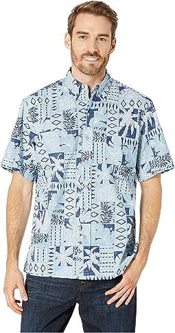 Papa-Palm Classic Fit Hawaiian Shirt