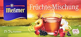 Meßmer Früchte 25 TB, 6er Pack 6 x 75 g Packung