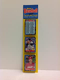 Best donruss baseball puzzle and cards 1988 Reviews
