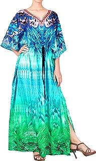Women's One Size Kaftan Wedding Dresses Sleepwear Cover Ups Drawstring