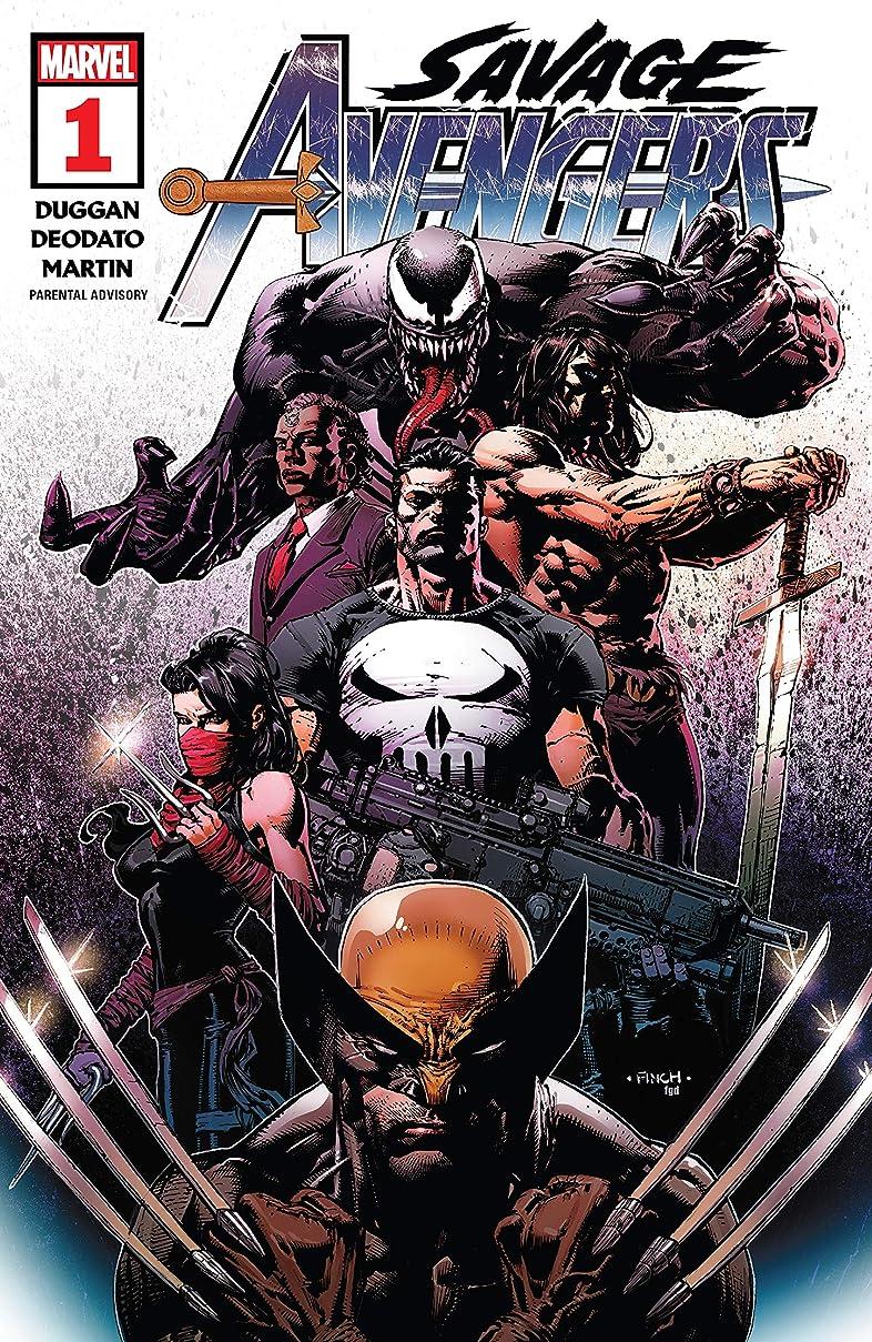 マナー投資カプセルSavage Avengers (2019-) #1 (English Edition)