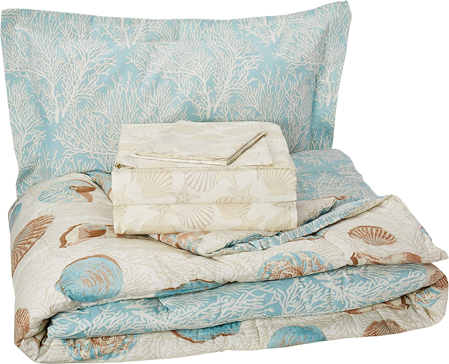 Discoveries 2A850101BL Twin Comforter Set, bluee
