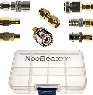 NooElec SMA Adapter Connectivity Kit   Set von 8 Adaptern für NESDR SMArt (RTL SDR) und andere SMA Software Defined Radios mit tragbare Tragetasche