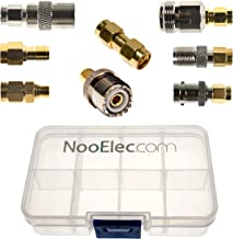 SMA Adapter Connectivity Kit: 8 Adapters for NESDR (RTL-SDR) SMA Radios w/Case