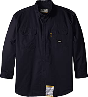Berne Men's Big-Tall FR Button Down Work Shirt