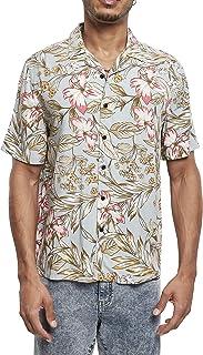 Urban Classics Viscose Resort Shirt Camiseta para Hombre
