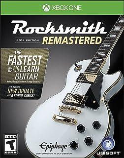 Rocksmith, edición 2014 remasterizada; Xbox One, edición e