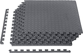 AmazonBasics Exercise Training Puzzle Mat with EVA Foam Interlocking Tiles