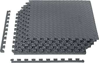 AmazonBasics EVA Foam Interlocking Exercise Gym Floor Mat Tiles