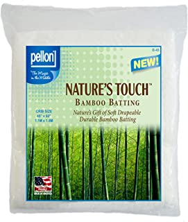 Pellon B-45 Nature's Touch Bamboo Blend Batting W/Scrim - Crib 45