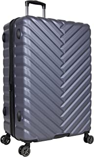 """Kenneth Cole Reaction """"Madison Square"""" Women's Lightweight Hardside 3-Piece 20""""/24""""/28"""" Chevron Expandable Spinner Luggage Set"""