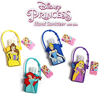 Official Disney Princess Hand Sanitizer with Aloe (4, Combo Pack)