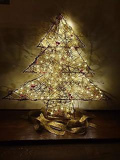 Albero di Natale in Legno, Decorazione Natalizio/Capodanno/Feste