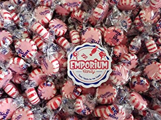 Quality Candy Spi-C-Mints Cinnamon - 2 lbs of Individually Wrapped Assorted Fresh Bulk Candy with Refrigerator Magnet