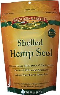 Manitoba Harvest Hemp Seed Nut, 8 Ounce - 8 per case.