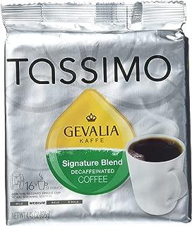 Gevalia Kaffe Signature Blend Decaffeinated Coffee, Pack of 2