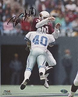 Bill Bates Autographed 8x10 Dallas Cowboys (White Jersey)
