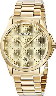 Gucci - G Timeless – Reloj de Pulsera analógico Unisex de Cuarzo, Revestimiento de Acero Inoxidable ya126461