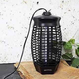 صاعق حشرات وذباب بقوة 6 واط - بمصباح انبوبي بالاشعة فوق البنفسجية وشبكة كهربائية، قاتل للحشرات والذباب والبعوض والدبابير