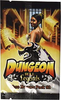 Dungeon Roll: Legends (Hero Booster #2) Dice Game Expansion