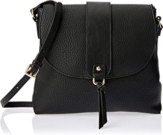 Louenhide Australia 1244Bk Clovelly Crossbody Bag, Black