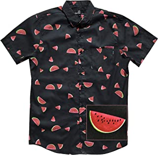 Official Molokai Button up Slim Fit Hawaiian Short Sleeve Shirts